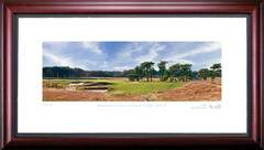 Shinnecock Hills 17th Hole Framed Golf Art Print