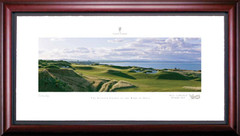 St. Andrews 3rd Hole Framed Golf Art Print