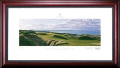 St. Andrews 3rd Hole Framed Golf Art Print