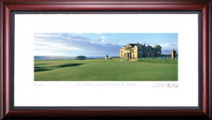 St. Andrews 18th Hole Golf Photo Framed Picture