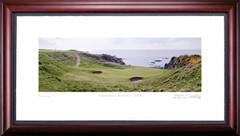 Turnberry Kintyre 8th Hole Framed Golf Art Print