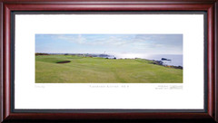Turnberry Kintyre 9th Hole Framed Golf Art Print