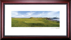 Turnberry Ailsa 10th Hole Framed Golf Art Print