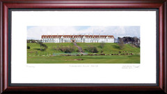Turnberry Ailsa 18th Hole Framed Golf Art Print