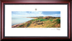 Whistling Straits 3rd Hole Framed Golf Art Print