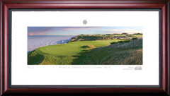 Whistling Straits 12th Hole Framed Golf Art Print