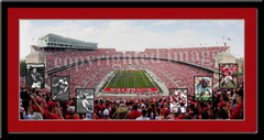 Script Ohio With Heisman Trophy Winners Print