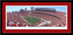 Quad Script Ohio Pride of the Buckeyes Framed Picture