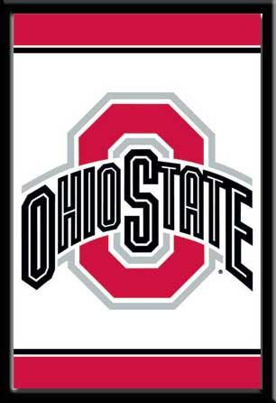Ohio State Logo Framed Fan Poster