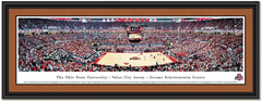 Ohio State Basketball Panoramic Poster of Value City Arena