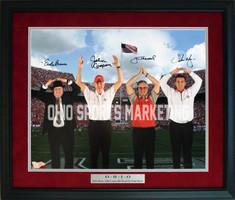 Ohio State Coaches O-H-I-O Autographed Photo