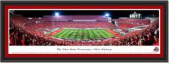 Script Ohio Football Stadium Panoramic Framed Picture