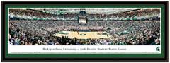Michigan State Jack Breslin Center Basketball Poster matted