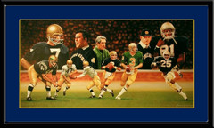 Notre Dame Legacy of Gold The New Era Framed Artist Proof
