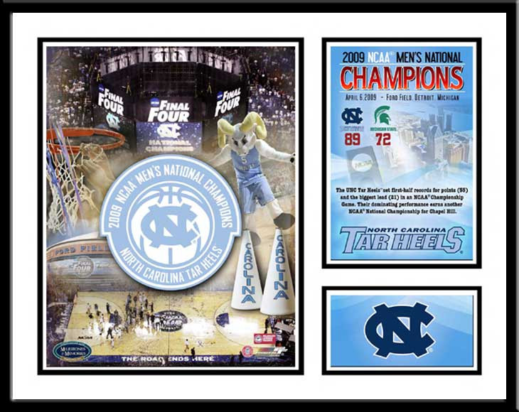 UNC 2009 NCAA National Champs Memories and Milestones