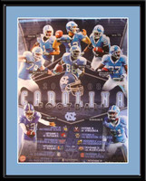 Carolina Football Art Print