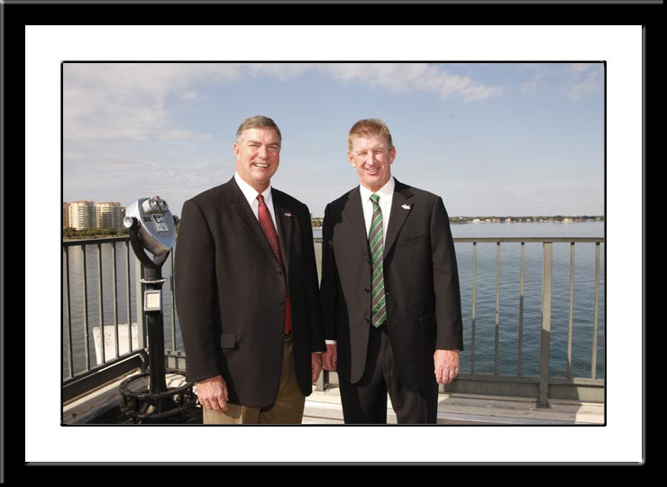 St. Petersburg Bowl Inaugural Coaches 2008