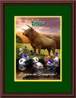 USF Bulls Print Beware the Stampede