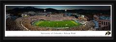 Colorado Folsom Field Framed Football Poster
