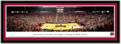 UNLV Basketball Panoramic Poster matted