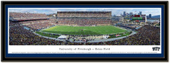 Pittsburgh Panthers Pitt Stadium Framed Poster matted