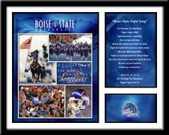 Boise State Memories and Milestones Framed Picture