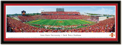 Iowa State Jack Trice Stadium Framed Picture matted