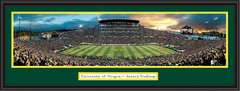 Oregon Autzen Stadium Ducks Panoramic Picture