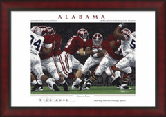 Alabama Return to Power Framed Picture