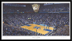 Kentucky Basketball Print First to 2000 Games Poster