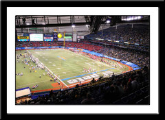 St. Petersburg Bowl 2009 Framed Picture