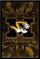 Mizzou Logo Poster Missouri Tigers Framed Poster