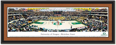 Oregon Ducks McArthur Court Basketball Panoramic Picture