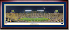 Michigan Stadium A Night to Remember First Night Game Print