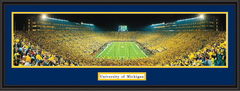 Michigan First Night Game at The Big House Framed Picture