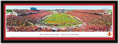 Iowa State Cyclones vs Iowa Hawkeyes Framed Poster matted