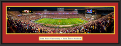 Iowa State Jack Trice Stadium Framed Panoramic Print
