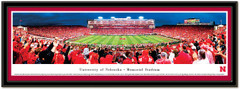Nebraska First Big Ten Home Opener Comeback Poster matted