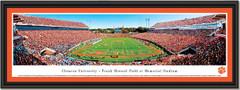 Clemson End Zone At Frank Howard Field At Memorial Stadium