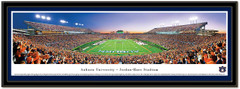 Auburn Jordan Hare Stadium At Dusk Framed Photo matted