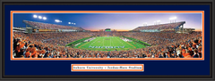 Auburn Jordan Hare Stadium At Dusk Framed Photo