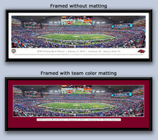 Arkansas Razorback Cotton Bowl Championship Framed Print