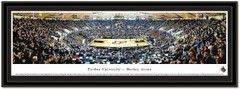 Purdue Remodeled Mackey Arena Framed Basketball Poster matted