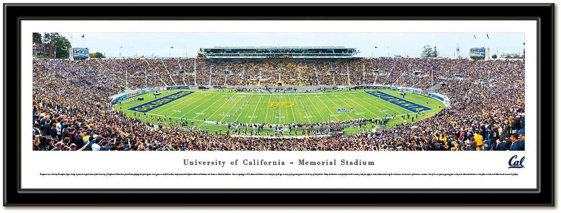 Cal Golden Bears Memorial Stadium Framed Picture no mat