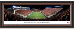 Virginia Tech Hokies Lane Stadium Orange Effect Picture