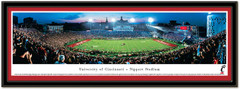 Cincinnati Bearcats Nippert Stadium Sunset Framed Picture matted