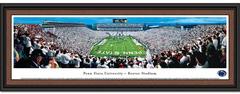 Penn State Beaver Stadium White Out Framed Picture