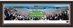 Penn State Beaver Stadium White Out Framed Picture