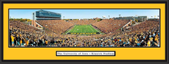 Kinnick Stadium End Zone Panoramic Framed Picture