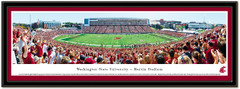 Washington State Cougars Martin Stadium Framed Picture matted